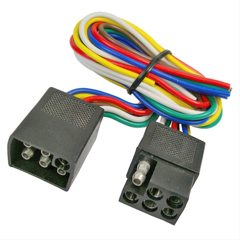 pico trailer wiring harness extensions 0717pt - free shipping on orders  over $99 at summit racing