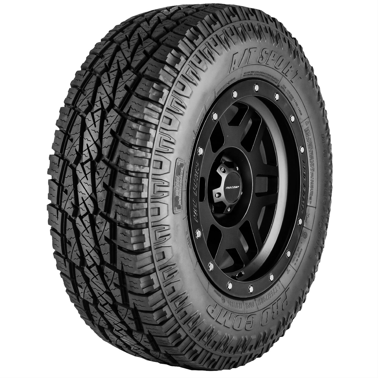Pro comp all terrain sport tires 42657516 free shipping on pro comp all terrain sport tires 42657516 free shipping on orders over 99 at summit racing sciox Image collections