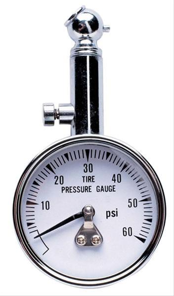 Professional Products 11101 0-60 Tire Gauge with 45/° End