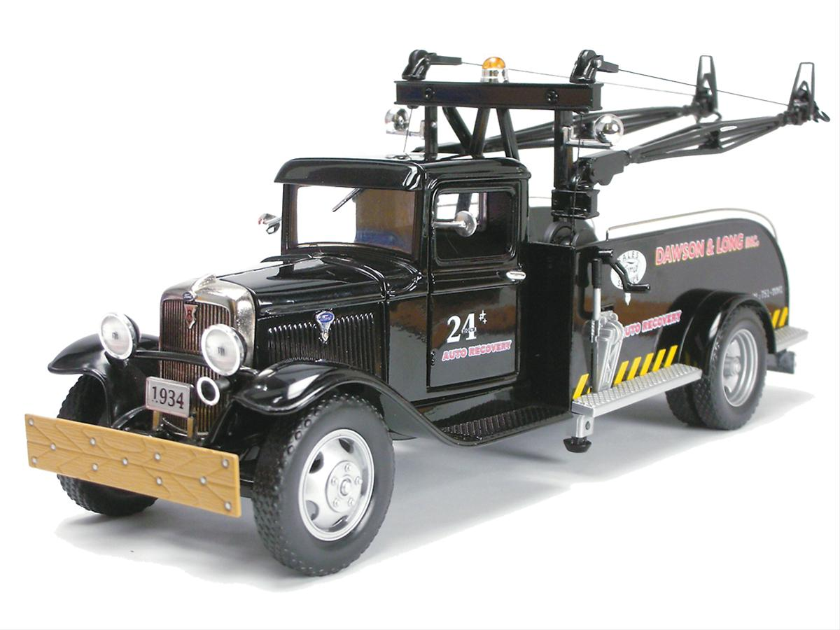 124 Scale 1934 Ford Bb 157 Tow Truck Diecast Model 18605 1942 Dodge Free Shipping On Orders Over 99 At Summit Racing