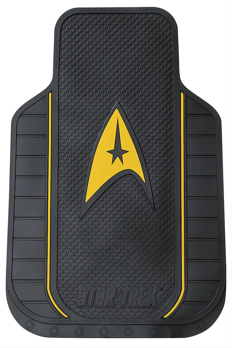 Star Trek Universal Rubber Floor Mats 001614r01 Free Shipping On Orders Over 99 At Summit Racing