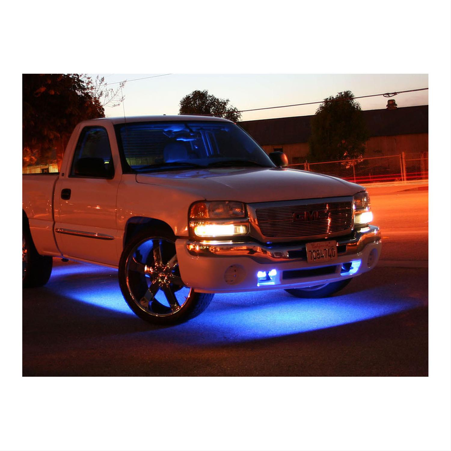 Pilot Automotive Neon Underbody Light Kits CZ-182B - Free Shipping on  Orders Over $49 at Summit Racing