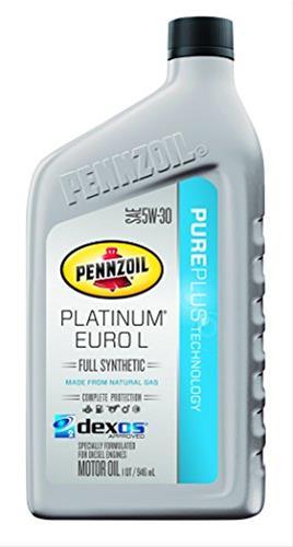Pennzoil platinum motor oil with pureplus technology for Pennzoil platinum full synthetic motor oil review