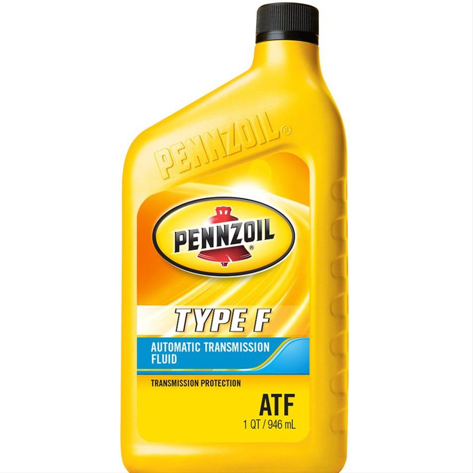 Automatic Transmission Fluid >> Pennzoil Transmission Fluid Pennzoil Type F Atf 1 Quart Each Ebay