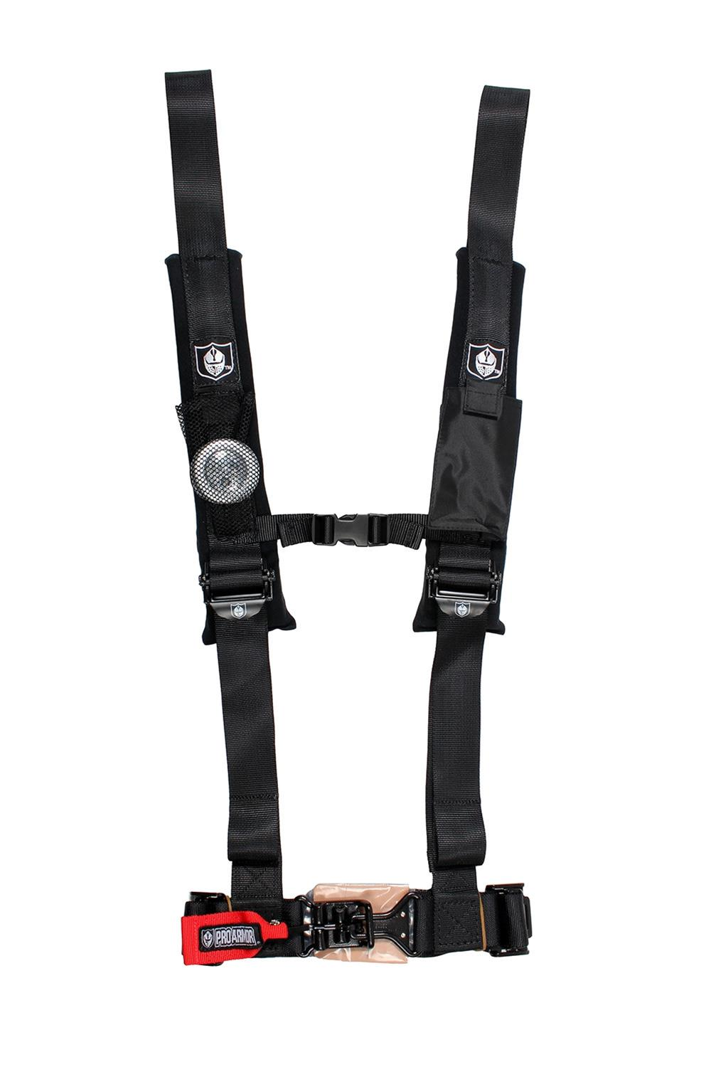 "OFF ROAD SIDE BY SIDE 2/"" SEAT BELT HARNESS RACING 4 POINT LATCH GREY"