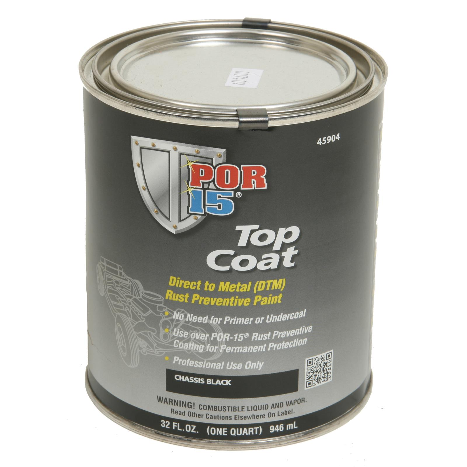 Por 15 Top Coat Paint 45904 Free Shipping On Orders Over 99 At Summit Racing
