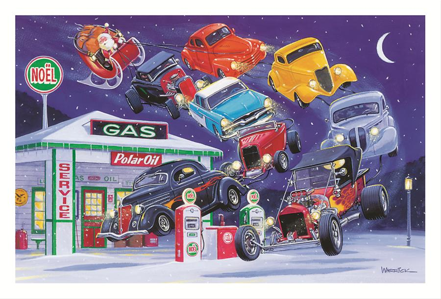 Summit Racing Christmas Car Show 2021 Summit Gifts Cc678 Flying In For Service Christmas Cards Set Of 10 Summit Racing