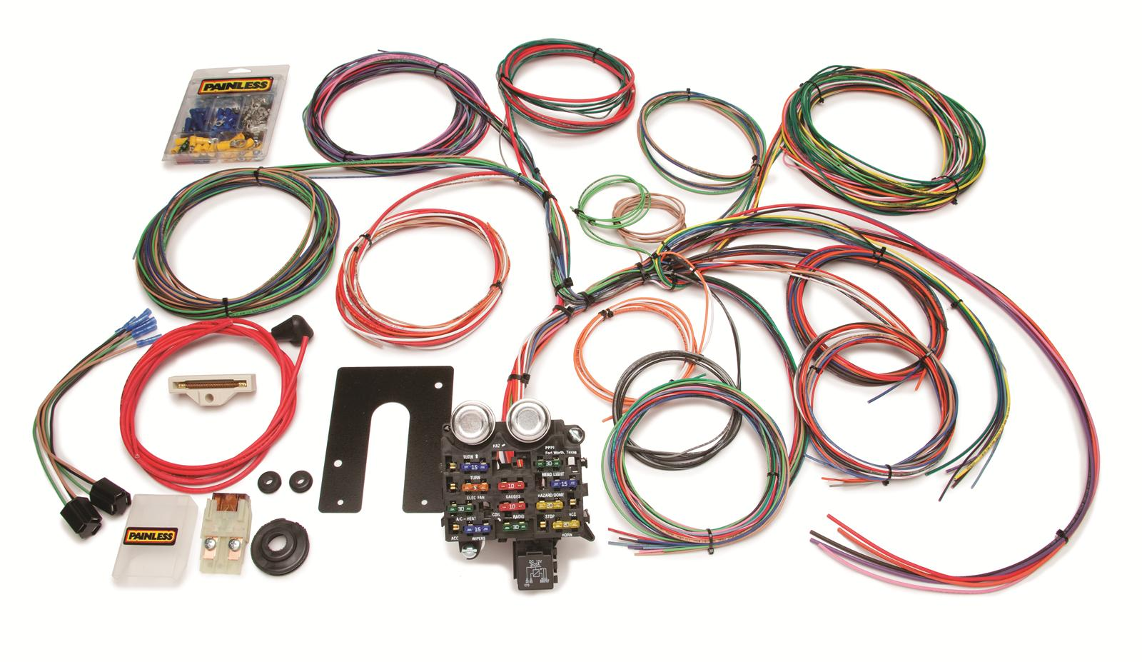 prf 10105_xl painless performance 22 circuit jeep cj harnesses 10105 free wiring harness for 1977 jeep cj-5 at creativeand.co
