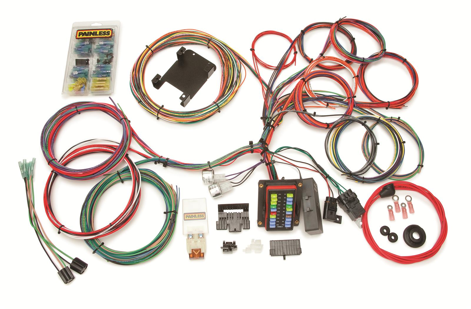 prf 10140_xl painless performance 26 circuit weatherproof universal chassis painless wiring harness rebate at creativeand.co