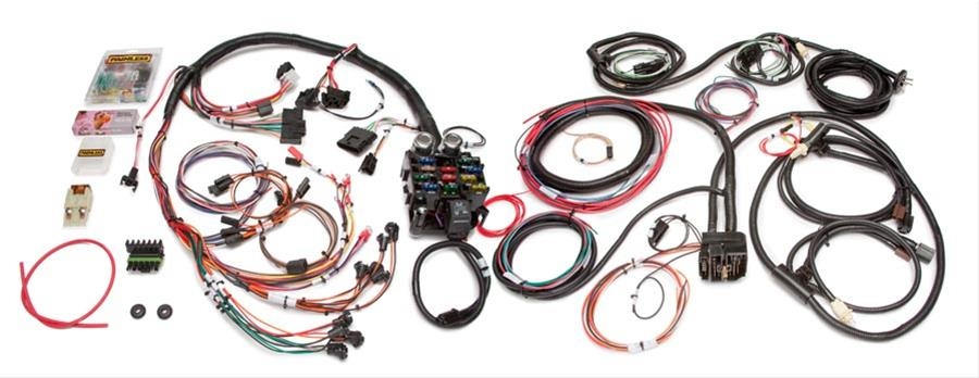 painless performance 21 circuit direct fit jeep cj harnesses 10150 Compleat Wiring Harness Jeep CJ7