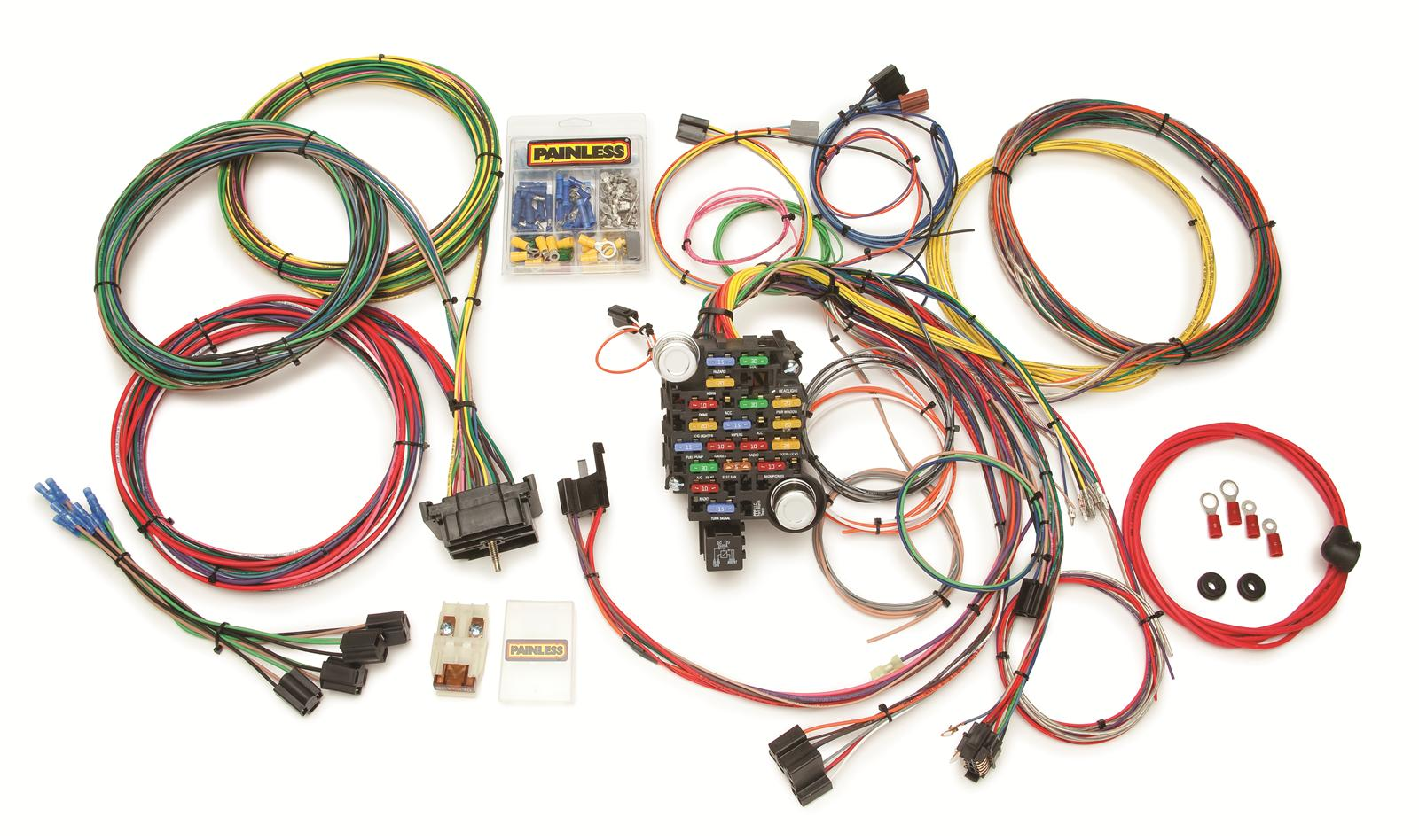 Custom Made Wiring Harness Kits Diagram Libraries Specialties Shipping Painless Performance Third Levelpainless Gmc Chevy Truck Harnesses 10206 Free