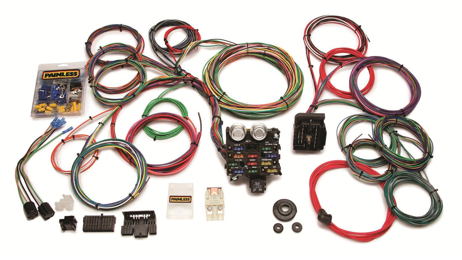 Painless Wiring Harness Mopar Universal Kit 20103 Car Ebay