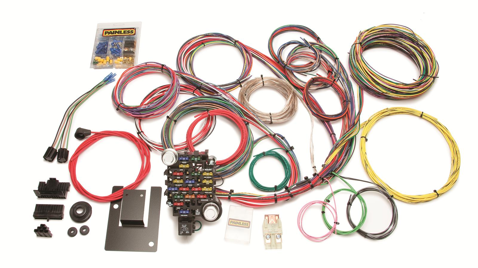 1955 Painless Wiring Harness 28 Diagram Images 1956 Bel Air Prf 20106 Xl Performance Circuit 57 Tri Five Chevy Harnesses