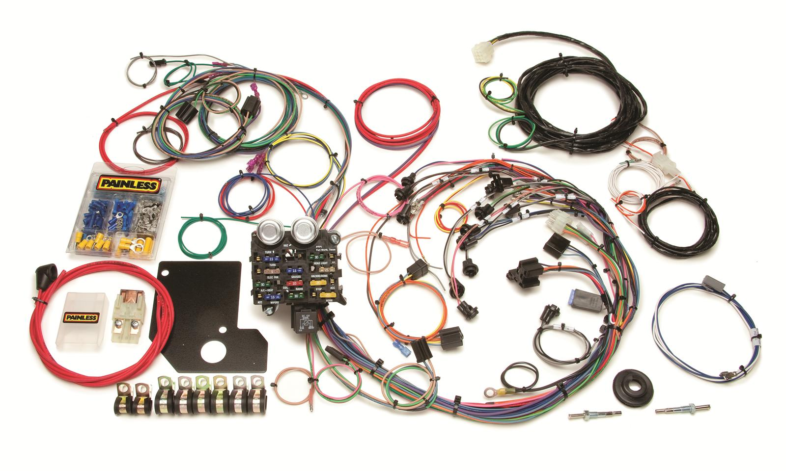 Painless Performance 21-Circuit Chevy II/Nova Harnesses 20110 - Free  Shipping on Orders Over $99 at Summit Racing