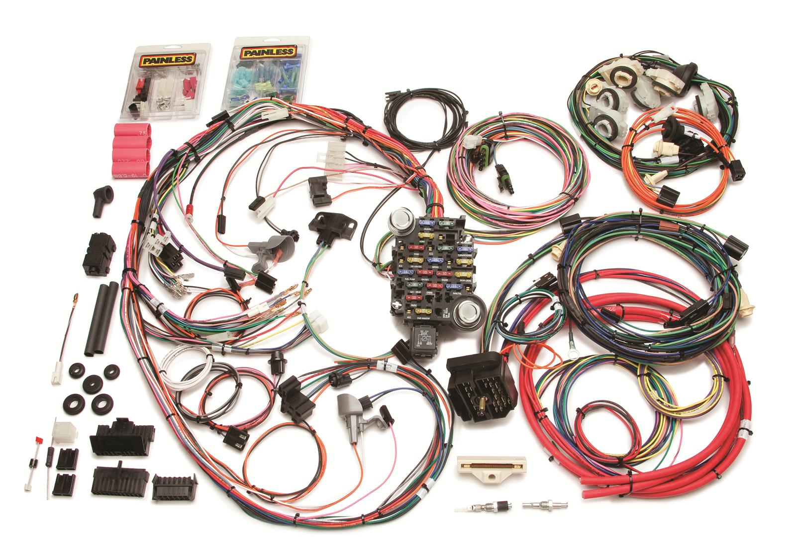 Painless Performance 26-Circuit 1978-81 Direct Fit Camaro Harnesses 20114 -  Free Shipping on Orders Over $99 at Summit Racing