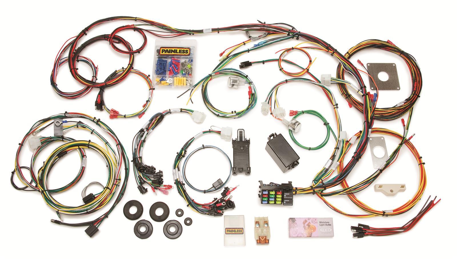 12 circuit painless wiring harness 20103 painless wiring harness toyota fj40 painless wiring 20120 wiring harness 12-circuit dash | ebay