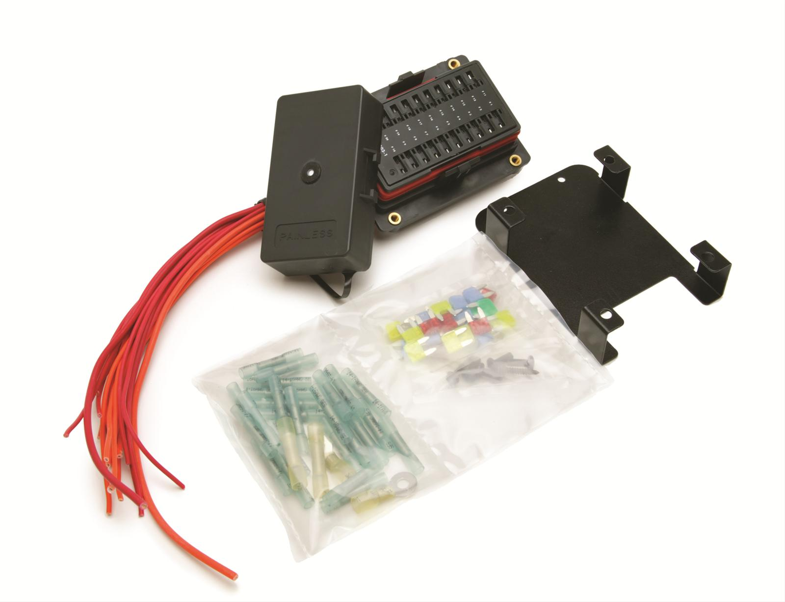 Painless Performance Universal Fuse Blocks 30004 - Free Shipping on Orders  Over $49 at Summit Racing