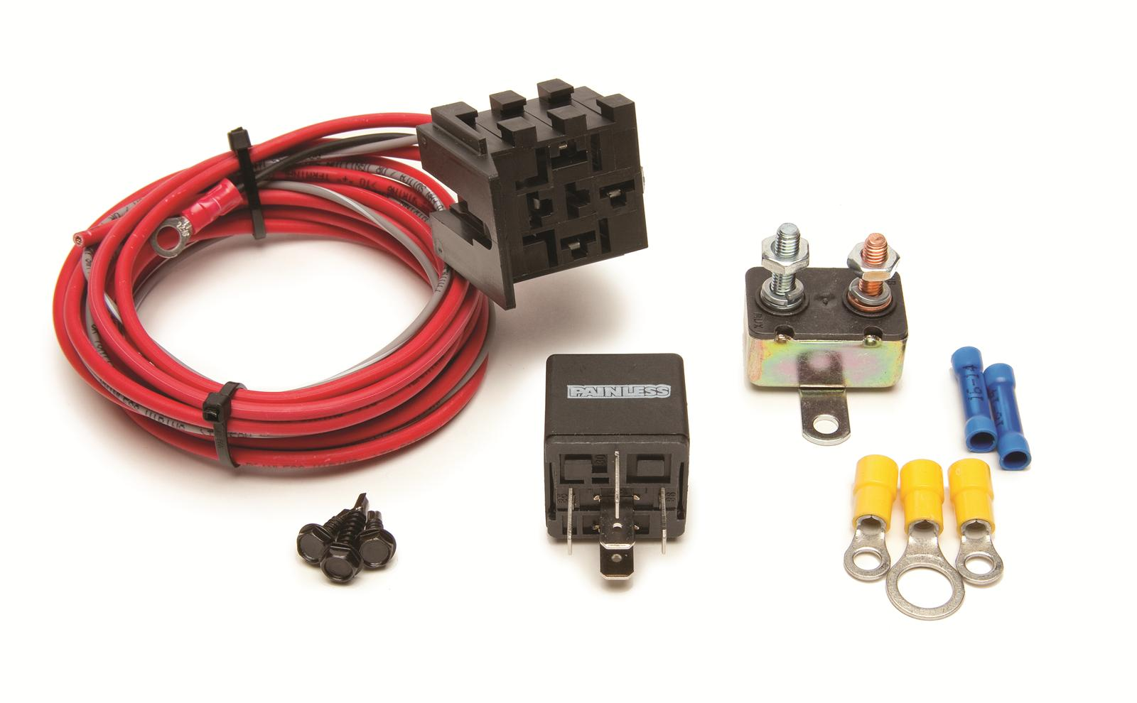 painless performance fan thom electric fan relay kits 30101 free
