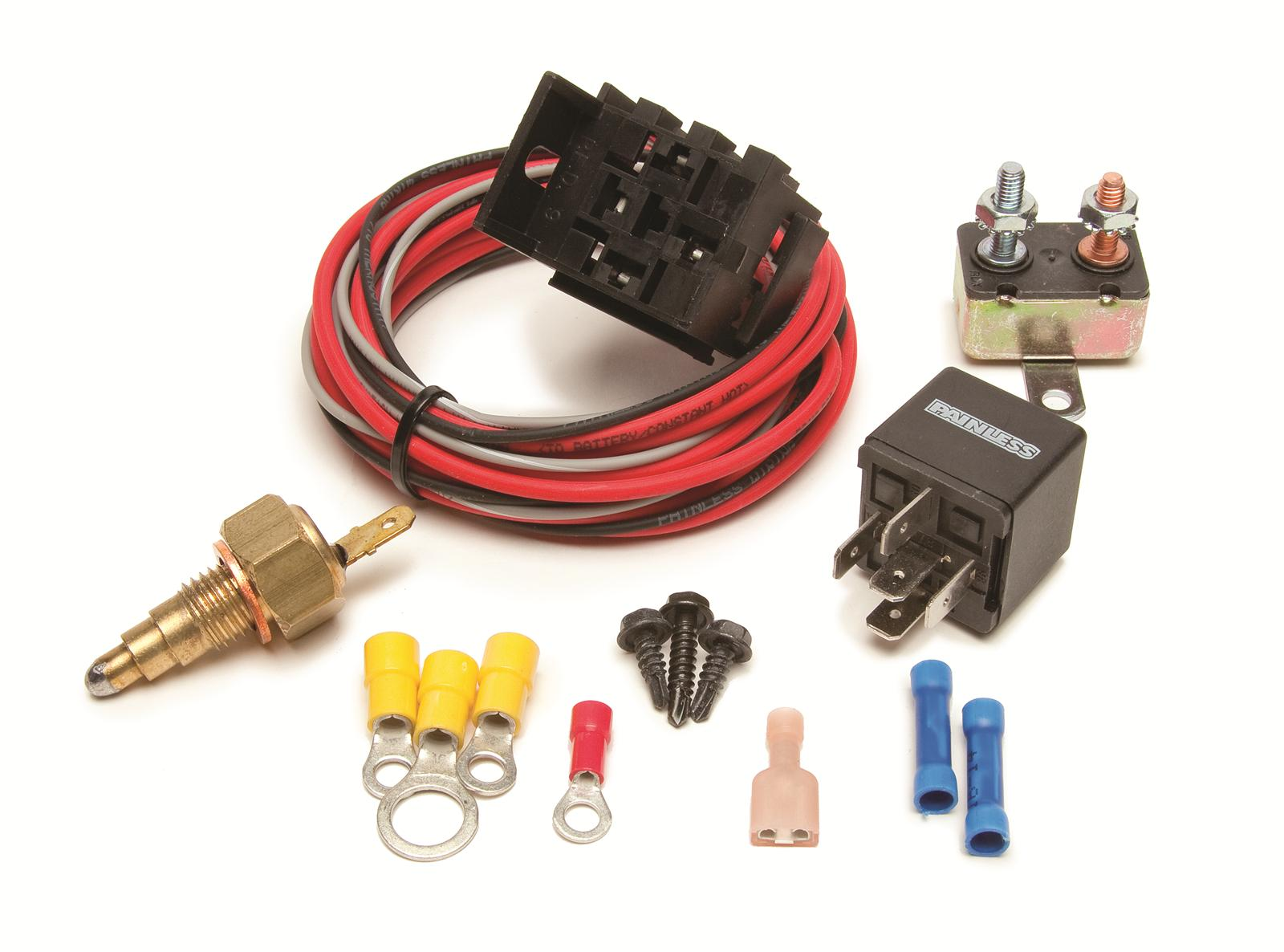 Painless Performance Electric Fan Relay Kit 205 On 190
