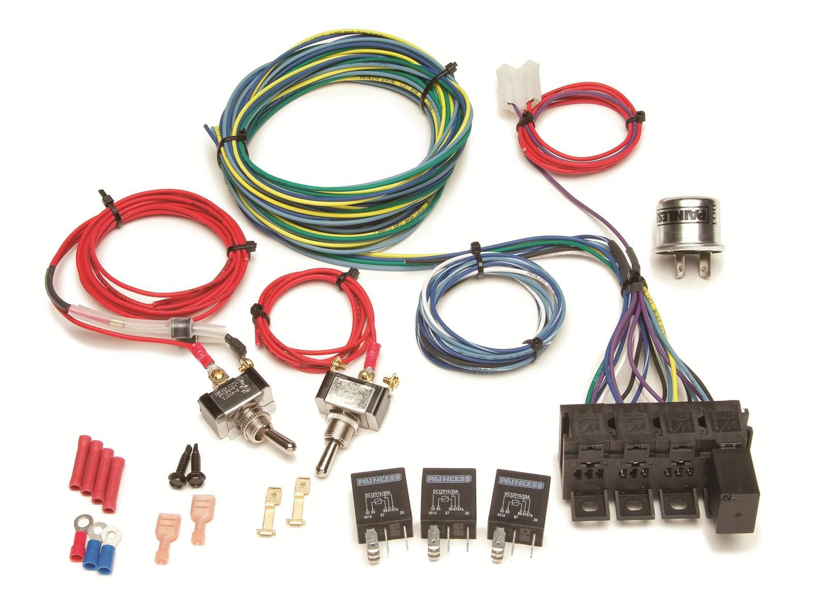 Universal Wiring Harness Instructions : Painless wiring universal wire harness summit ebay