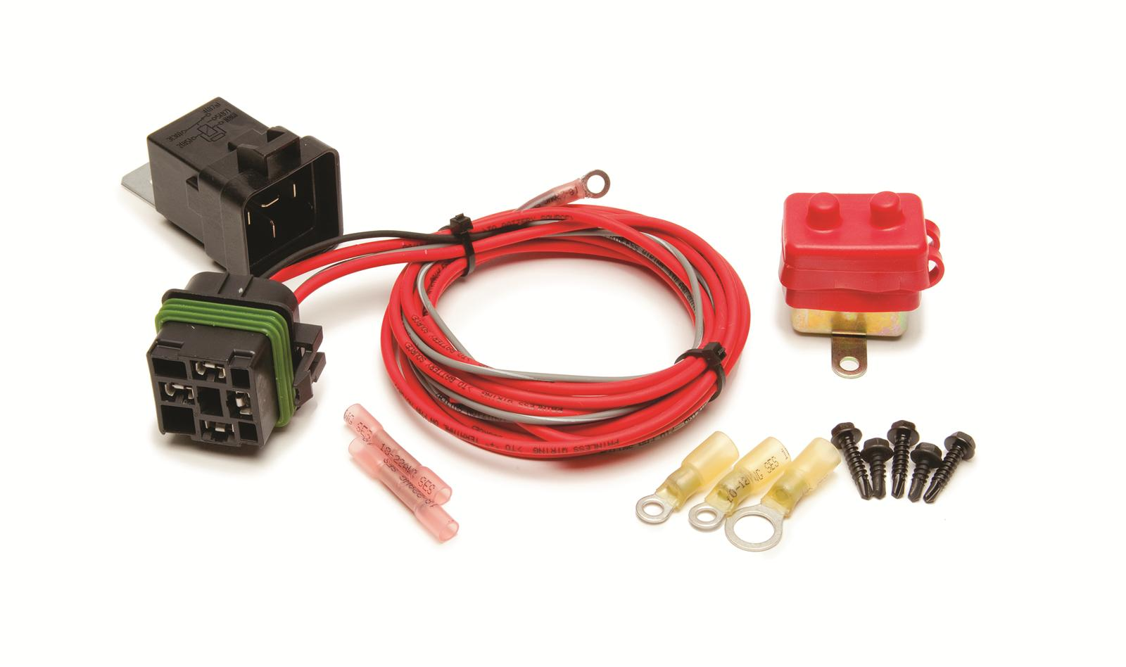 Painless Performance Weatherproof Electric Fan Relay Kits 30130 - Free  Shipping on Orders Over $99 at Summit Racing