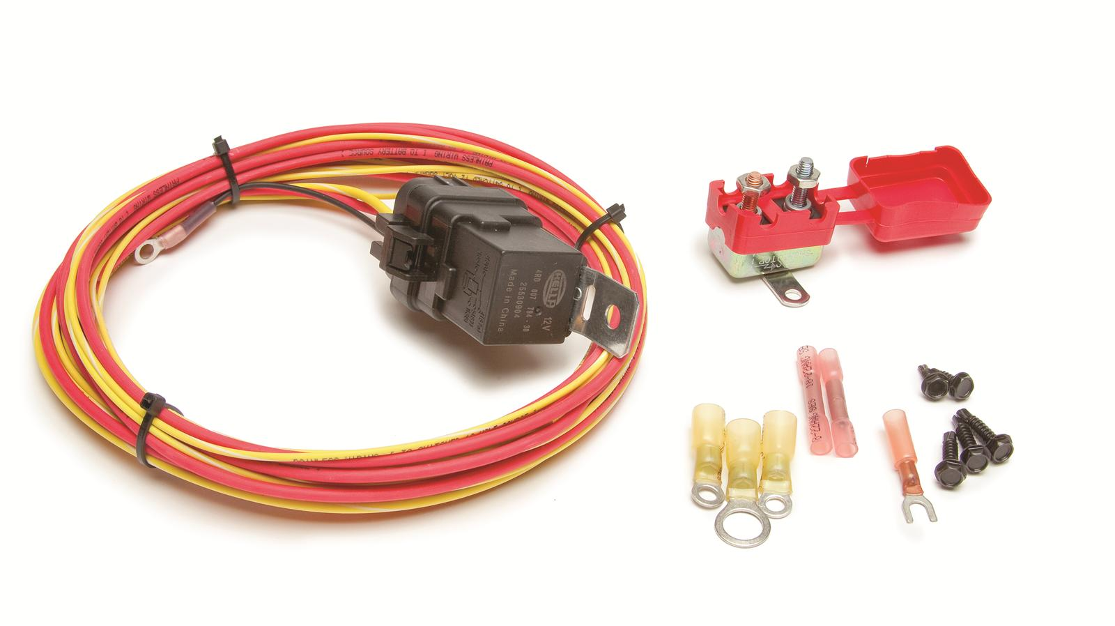 Superb Painless Performance Universal Fuel Pump Relay Kits 30131 Free Wiring 101 Akebretraxxcnl