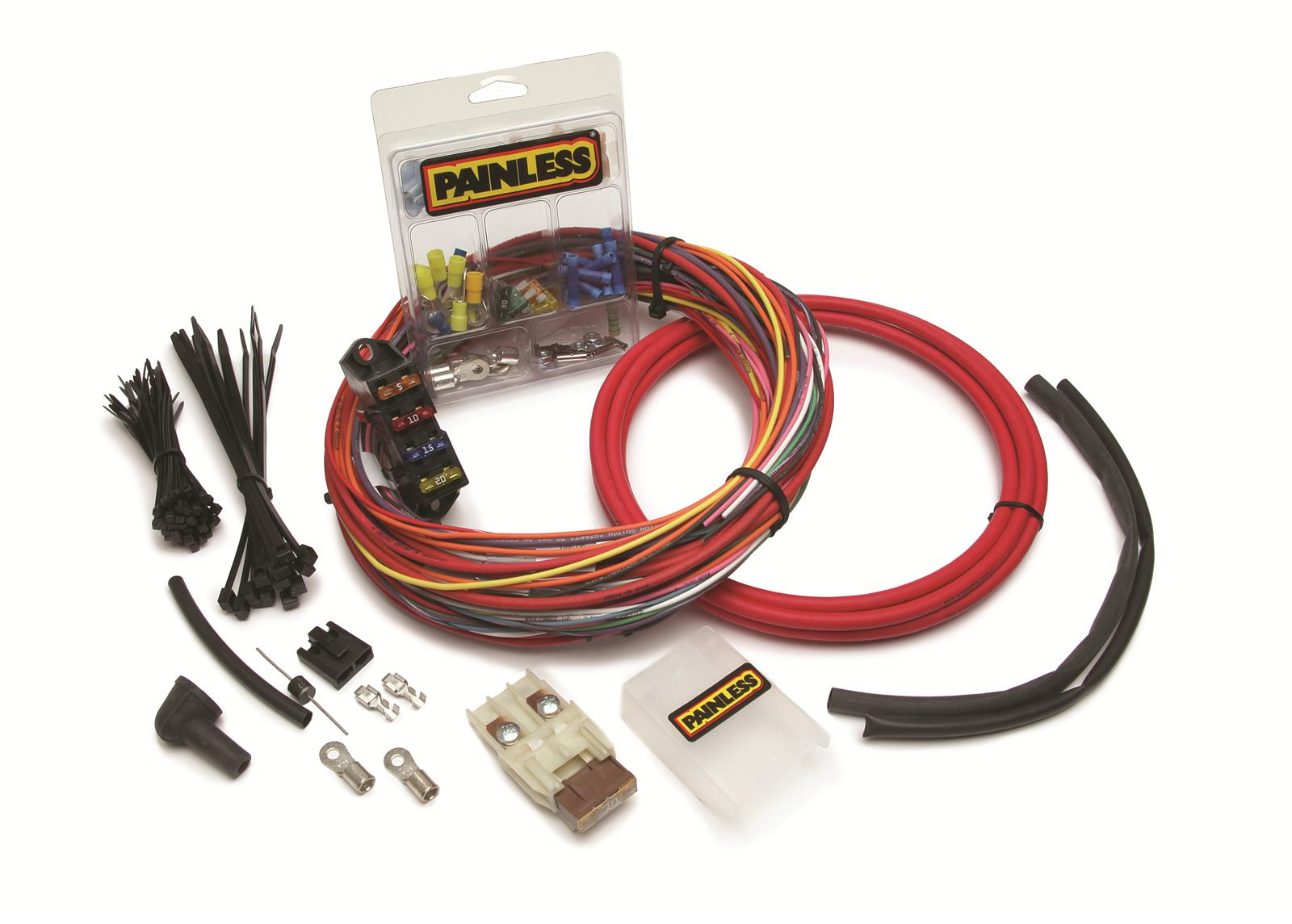 Painless Performance C.S.I. Universal Weather-Proof Engine Harnesses 30830  - Free Shipping on Orders Over $99 at Summit Racing