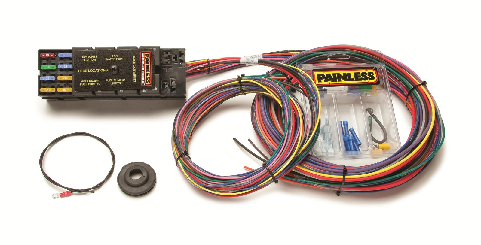 Painless Wiring 50001 Fuse Box Guide And Troubleshooting Of 70207 Block Harness 8 Circuit Dash Ignition Spade Ebay Diagram