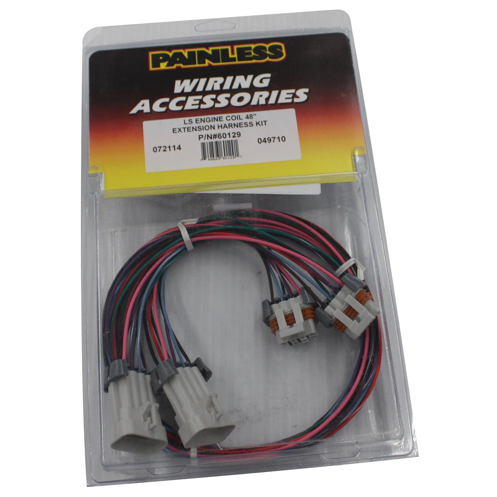 painless performance ls ignition coil wiring harness extension 60129