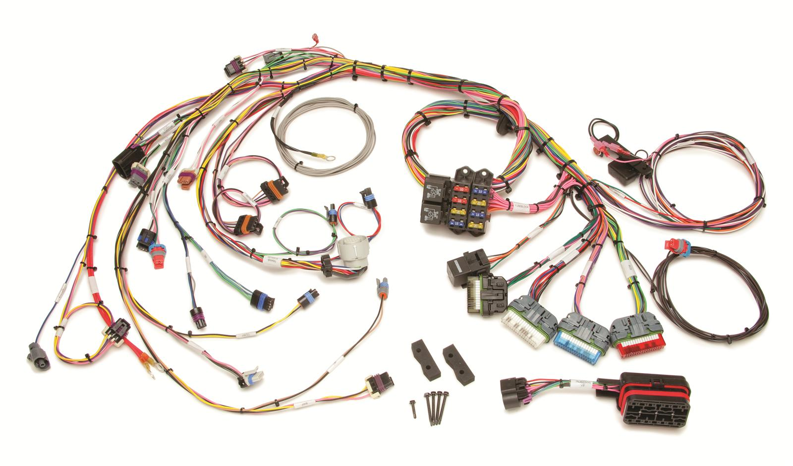Painless Wiring Manual 90534 Electrical Diagrams Installation All About Wire Harness Instructions