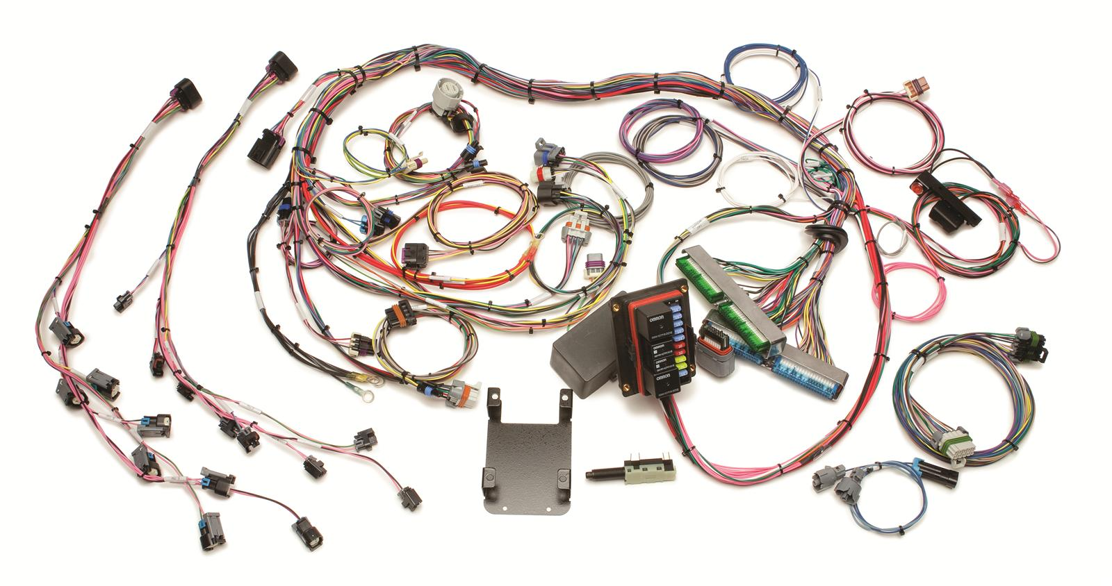 Painless Performance Fuel Injection Harnesses 60221 Free Shipping Wiring Loom On Orders Over 99 At Summit Racing