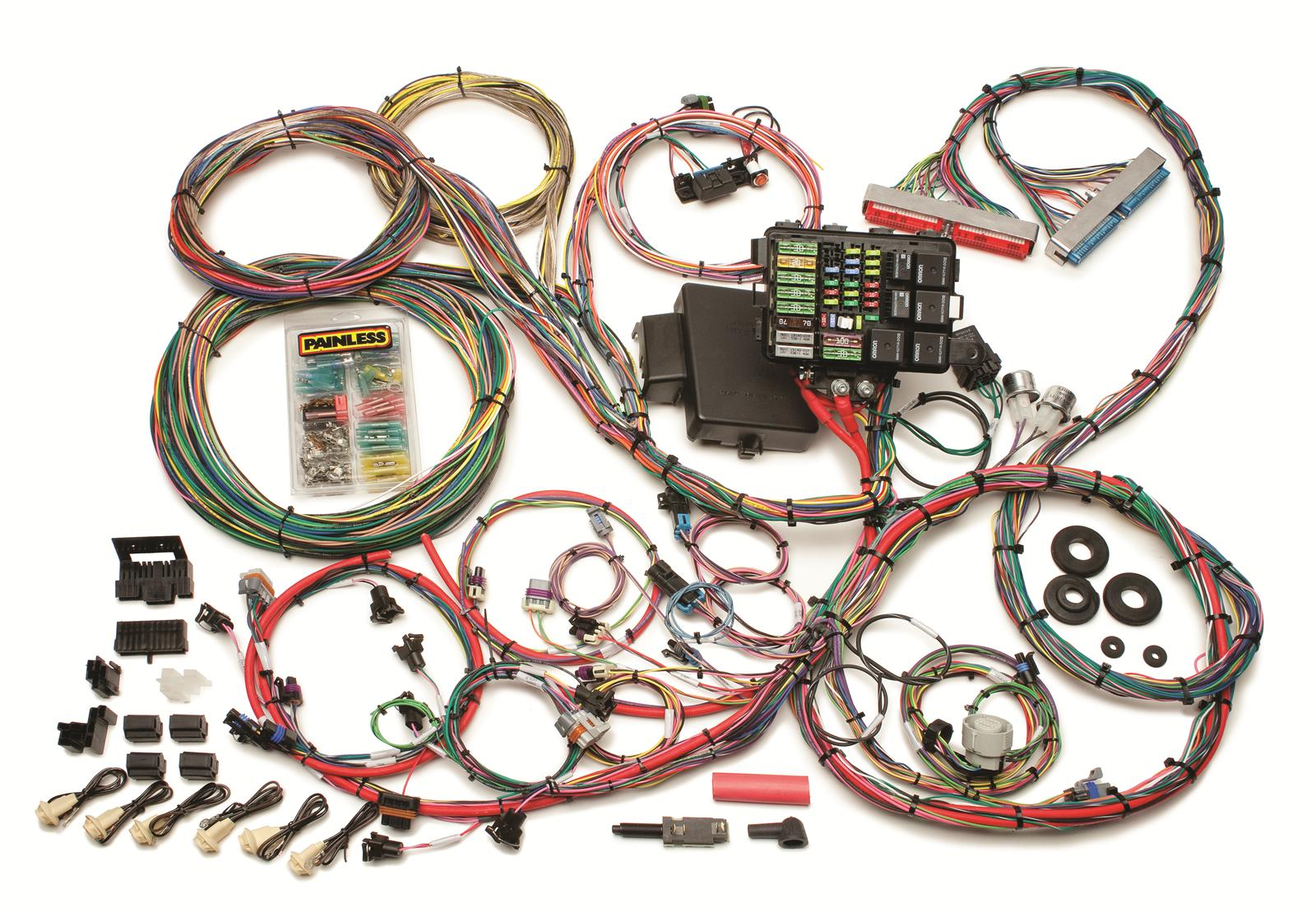 Painless Ls1 Wiring Harness Preview Diagram Swap In Addition 1995 Ford F 250 Conversion