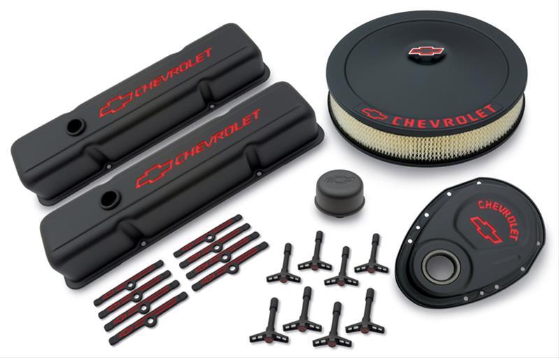 Chevrolet Engine Air Cleaner : Proform black sbc chevrolet gm performance