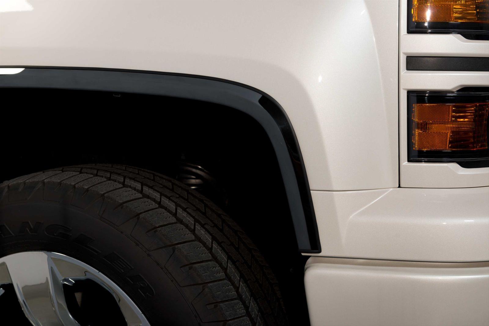 Putco 97295bp Black Platinum Fender Trim 2014 2015 Chevrolet Silverado Ld Full Ebay
