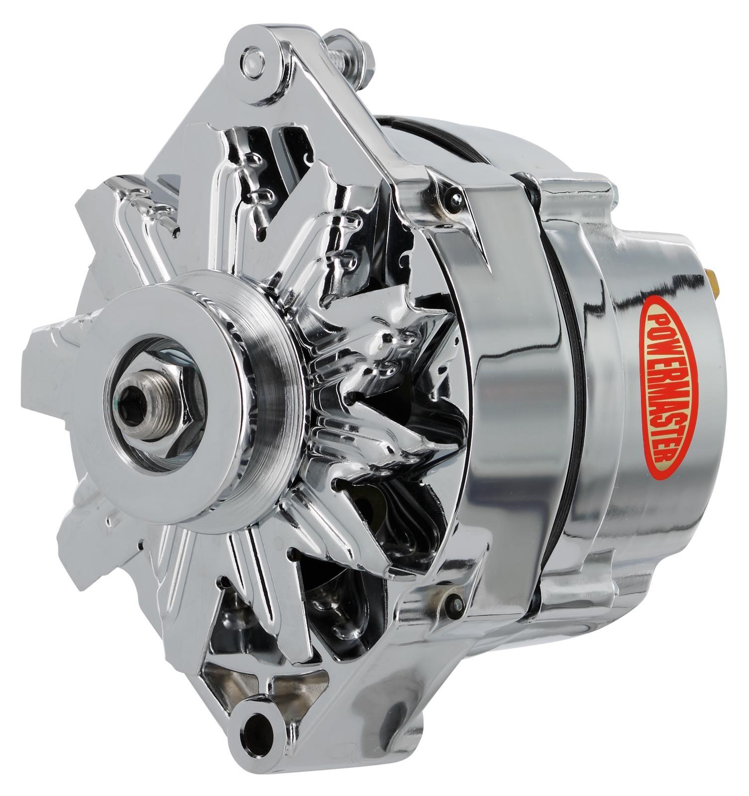 Powermaster Street Alternators 17102 Free Shipping On Orders Over Alternator Wiring Diagram 99 At Summit Racing