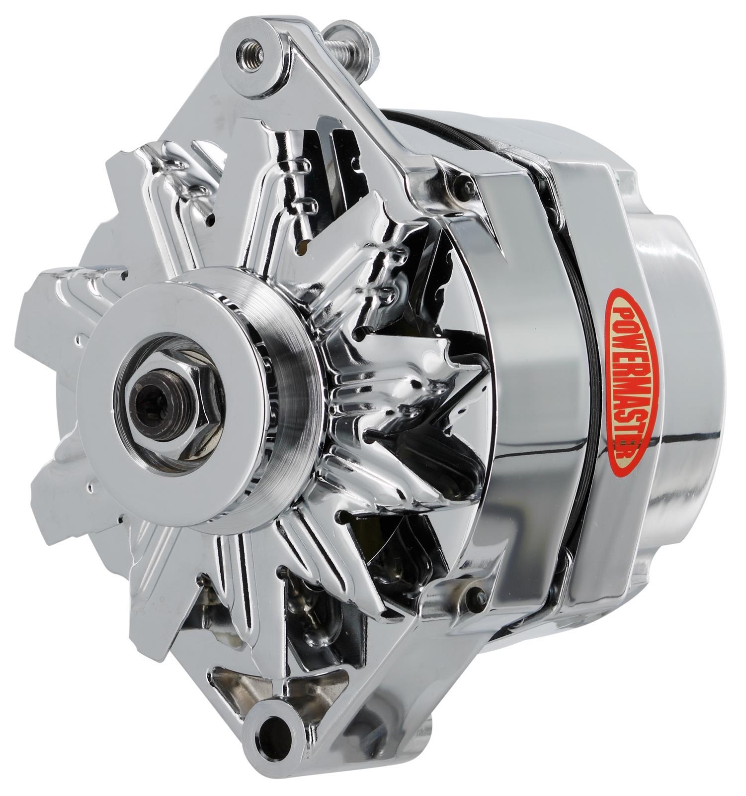 Powermaster Street Alternators 17127 Free Shipping On Orders Over Alternator Wiring Diagram 99 At Summit Racing