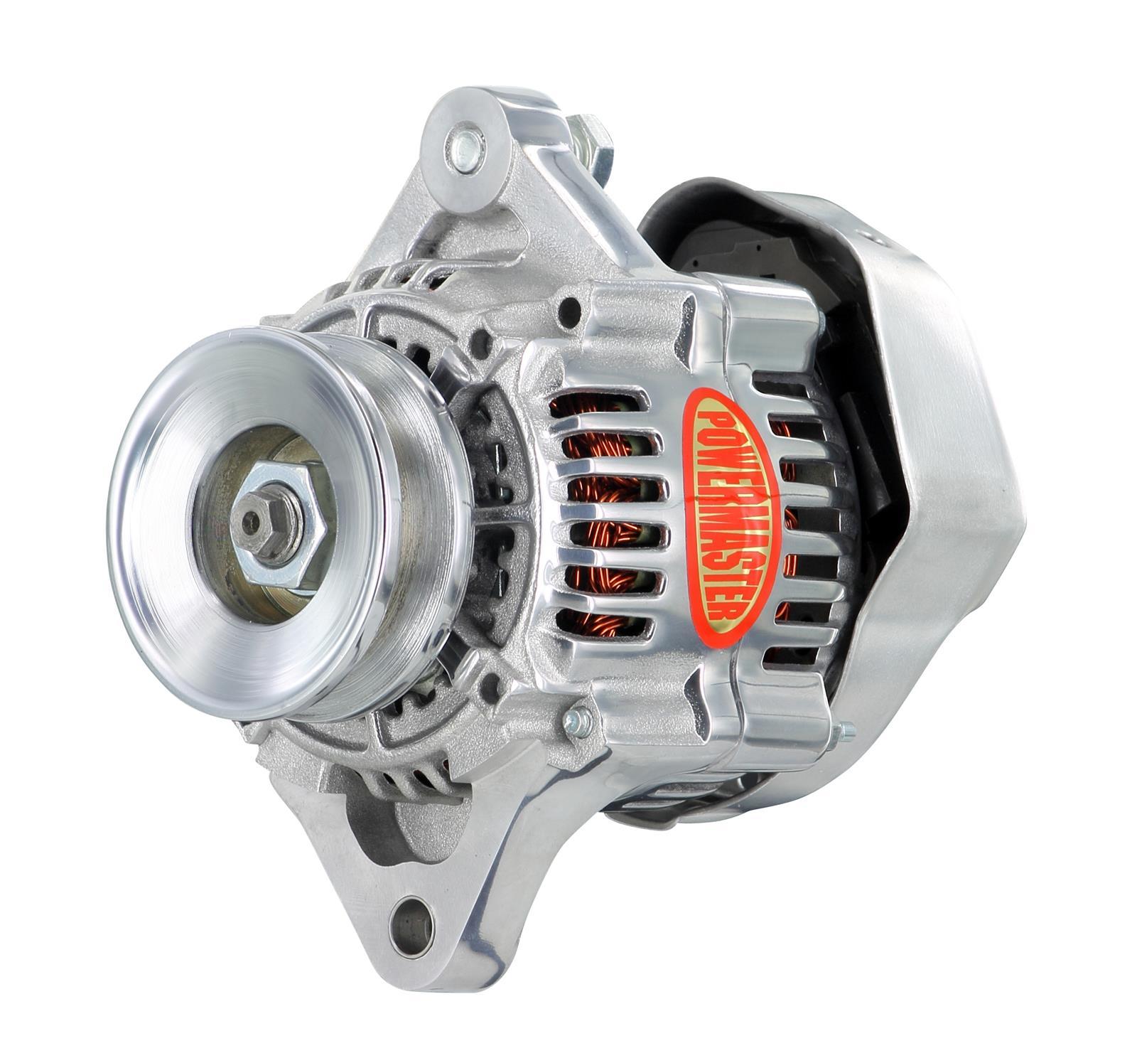 Powermaster Race Alternators 28162 Free Shipping On Orders Over Alternator Wiring Diagram 99 At Summit Racing