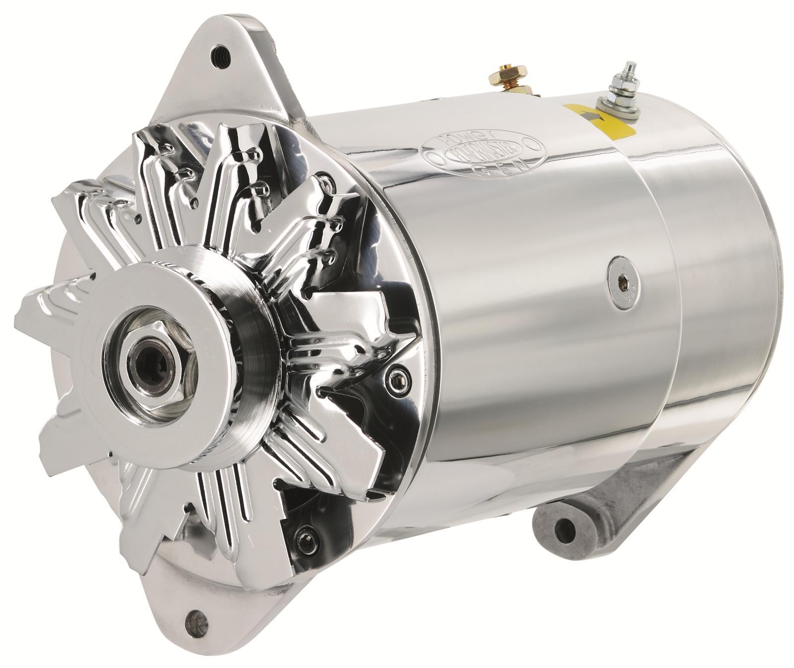 Powermaster Powergen Alternator 75 Amps Polished 12v