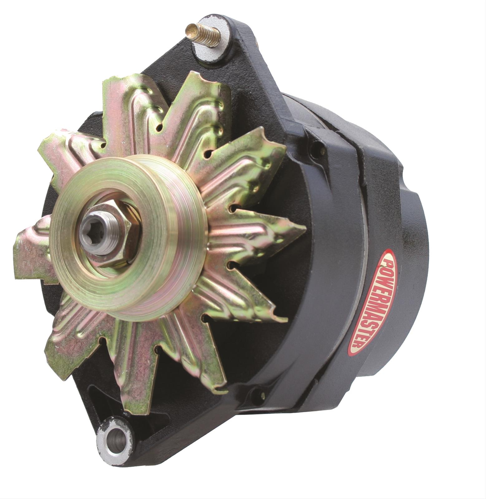 Powermaster Street Alternators 57293 - Free Shipping on Orders Over $99 at  Summit Racing