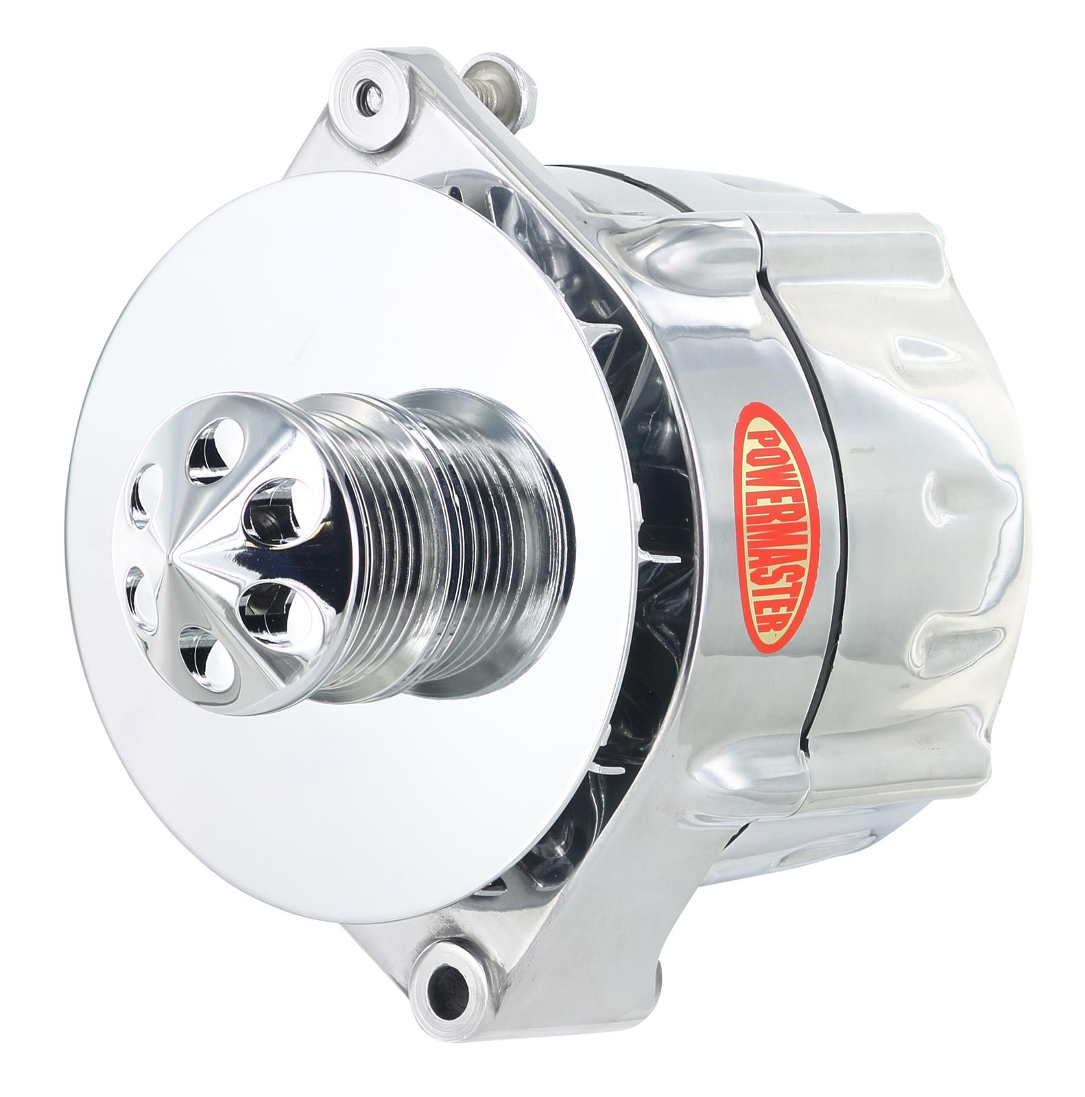 Powermaster Smooth Look Alternators 67296 - Free Shipping on Orders Over  $99 at Summit Racing