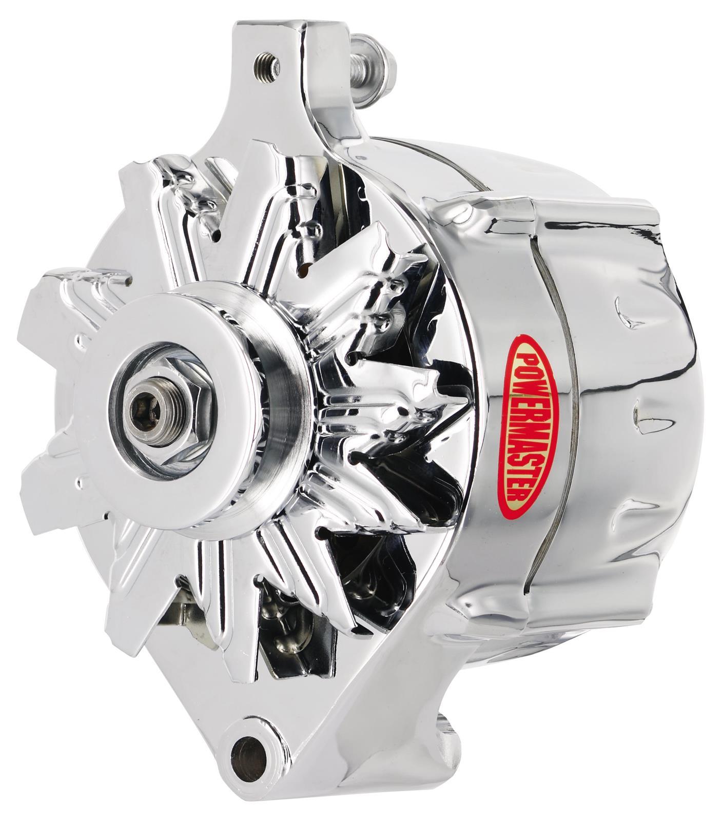 Powermaster Street Alternators 8 37141 Free Shipping On Orders Ford 1g Alternator Wiring Over 99 At Summit Racing