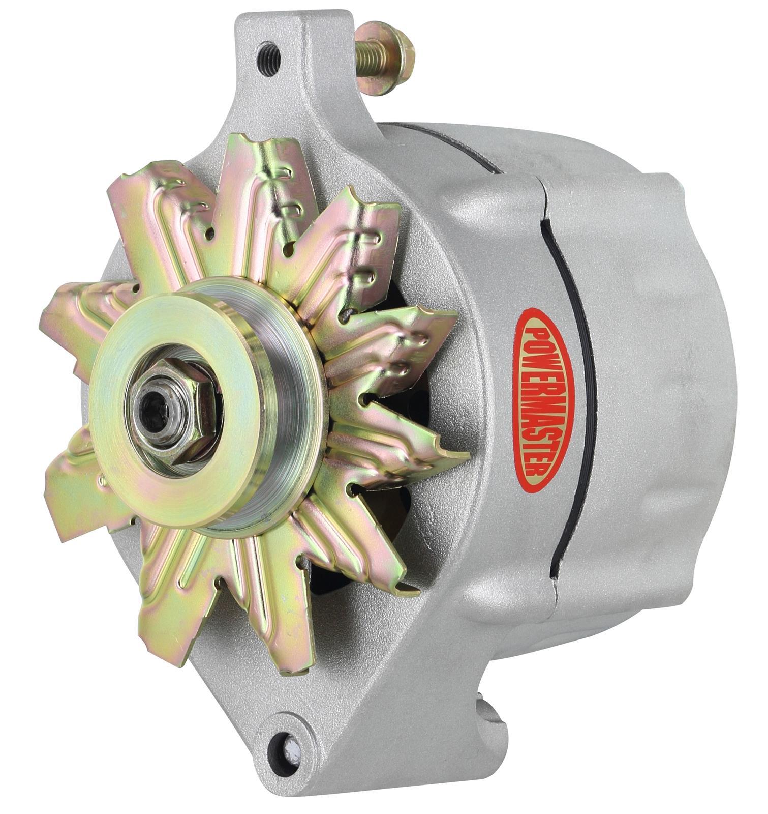 Powermaster Street Alternators 8 47101 Free Shipping On Orders Alternator Wiring Diagram Over 99 At Summit Racing