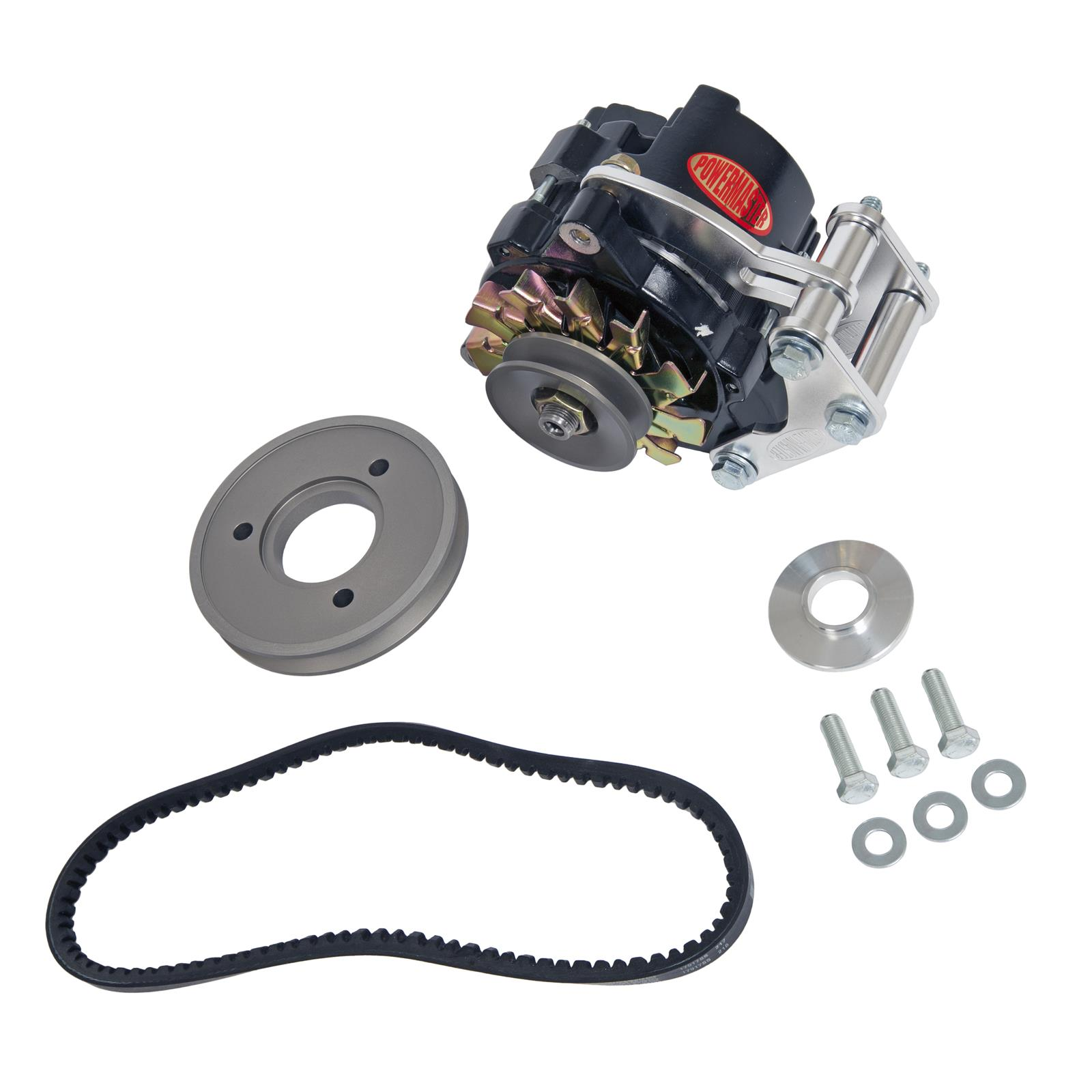 Powermaster Drag Race Alternator Kits 8 881 Free Shipping On Manuals Toyota Nippondenso 196374 Regulator Electrical Orders Over 99 At Summit Racing