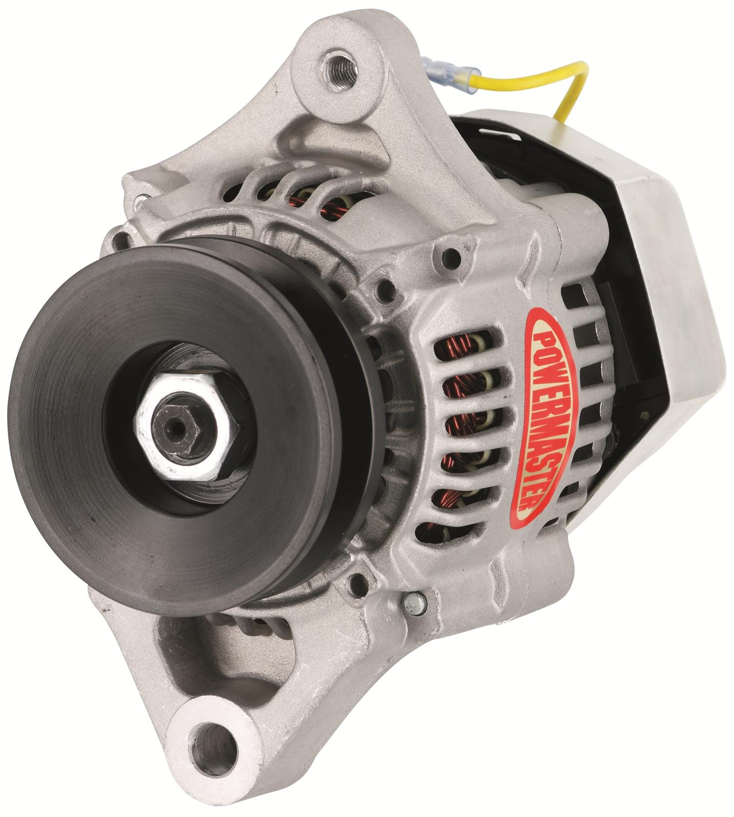 Find Powermaster Race Alternator 50 Amps 12v Nippondenso Case 8172 Alternators Chrysler Internal Regulator Amp Natural Each