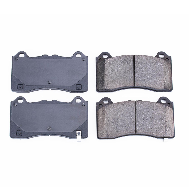 Disc Brake Pad Set-Z16 EvolutionClean Ride Ceramic Brake Pads Front Power Stop