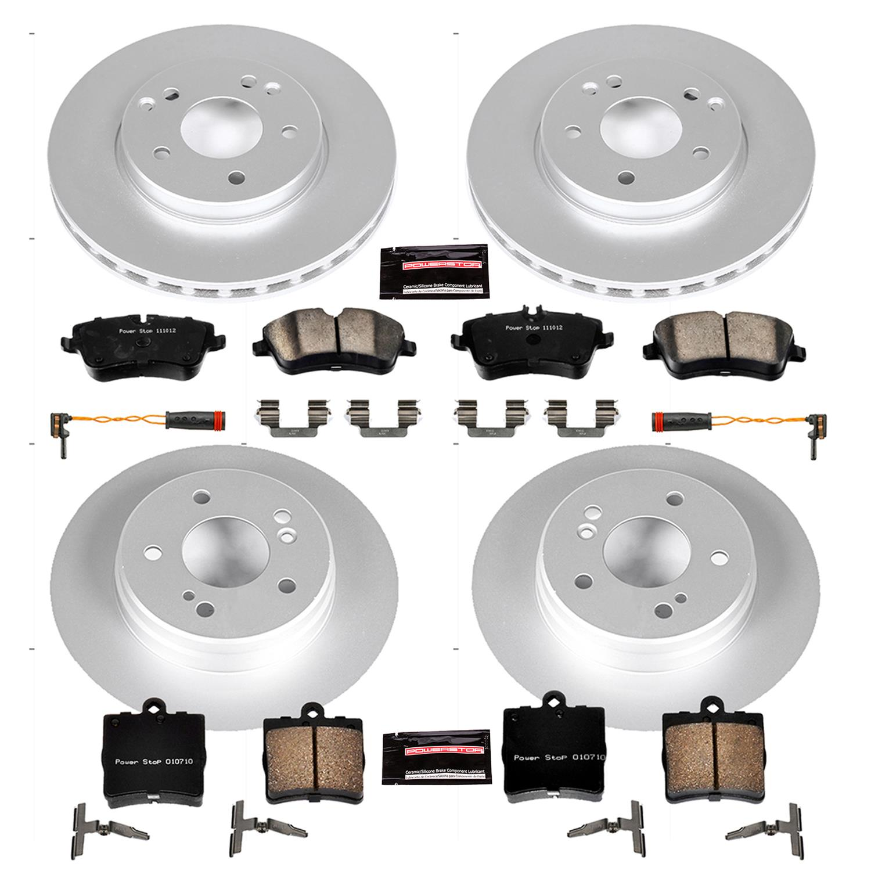 Power Stop CRK7921 front and rear Z17 Evolution Geomet Coated Brake Kit