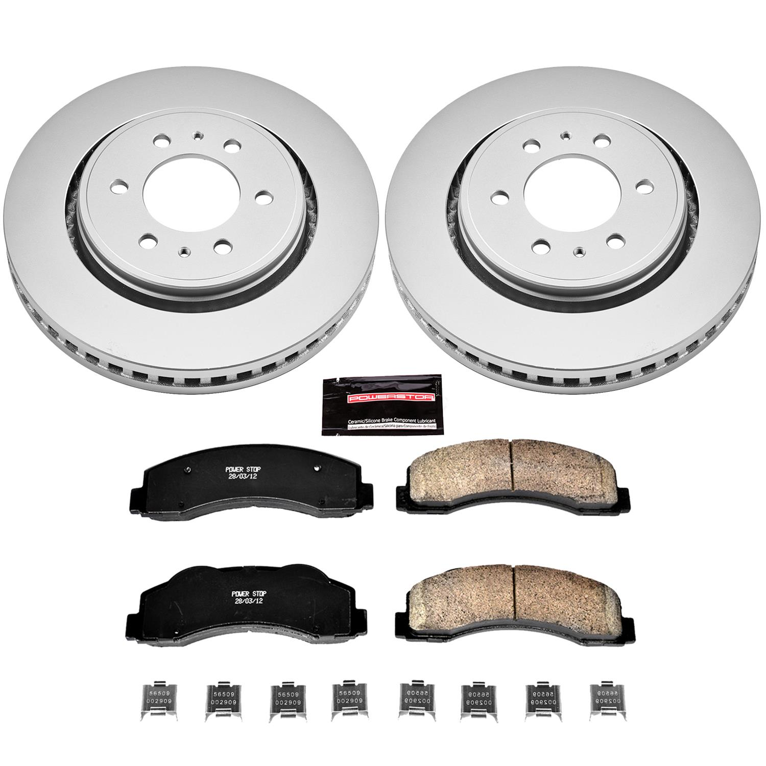 CRK3167 Power Stop Z17 Evolution Brake Kits