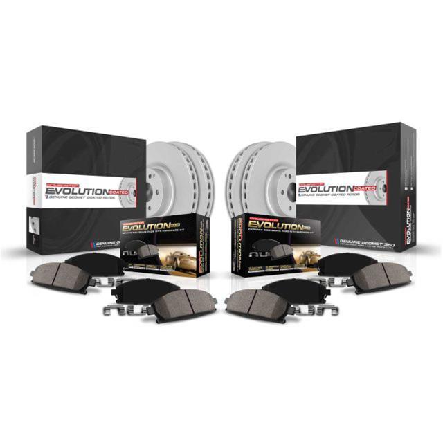 Power Stop CRK2451 rear Z17 Evolution Geomet Coated Brake Kit