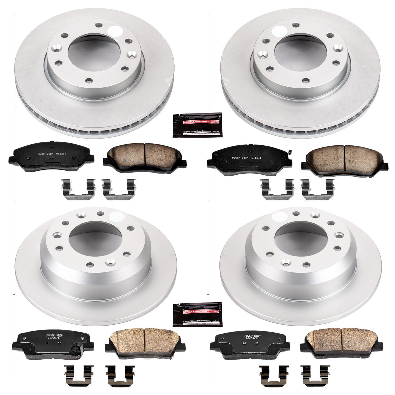 Disc Brake Hardware Kit Rear Better Brake 5831