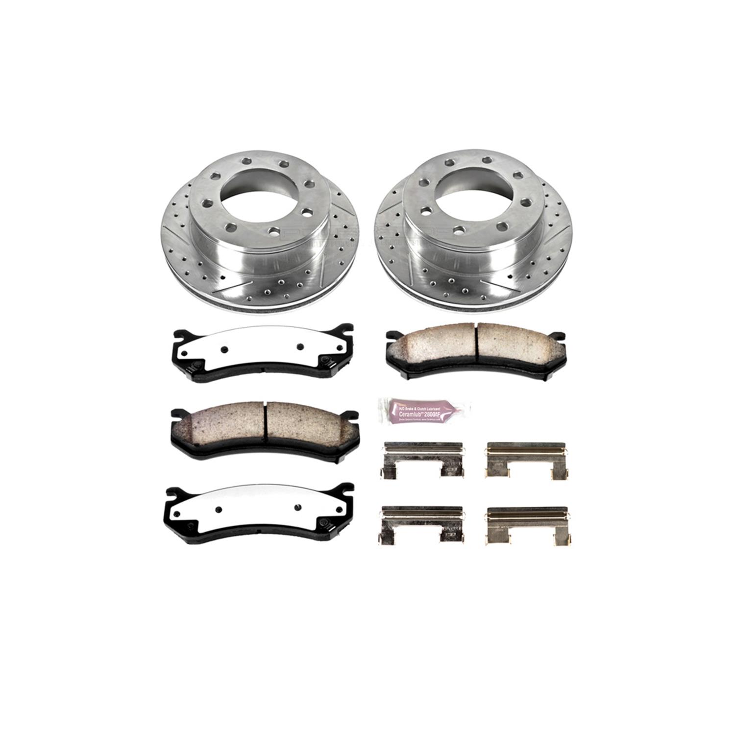 Power Stop Z36 Truck and Tow Performance Brake Kits K2041-36